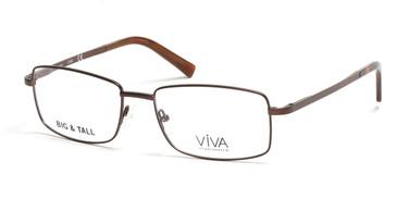 Matte Dark Brown Viva VV4005 Eyeglasses