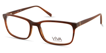 Shiny Light Brown Viva VV4044 Eyeglasses