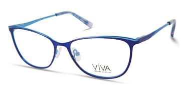 Matte Blue Viva VV4521 Eyeglasses