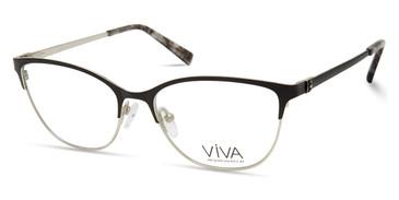 Matte Black Viva VV4524 Eyeglasses