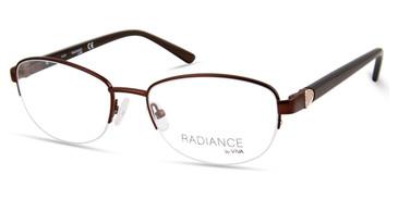 Matte Dark Brown Viva VV8006 Eyeglasses