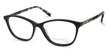 Shiny Black Viva VV8015 Eyeglasses