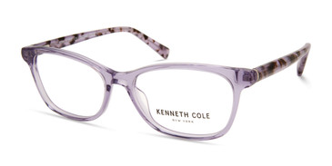 Shiny Violet Kenneth Cole New York KC0326 Eyeglasses - Teenager
