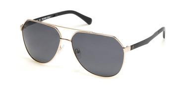 Gold/Smoke Polarized Kenneth Cole New York KC7252 Sunglasses