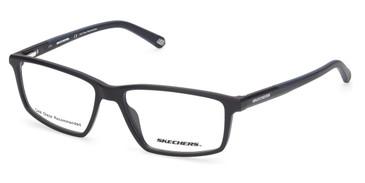 Matte Black Skechers SE3275 Eyeglasses