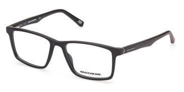 Matte Black Skechers SE3301 Eyeglasses