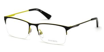Matte Black Diesel DL5347 Eyeglasses