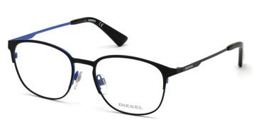 Matte Black Diesel DL5348 Eyeglasses