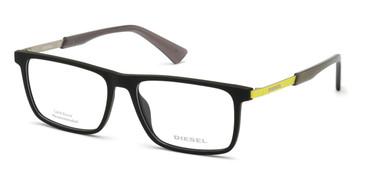 Matte Black Diesel DL5350 Eyeglasses