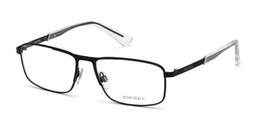 Matte Black Diesel DL5351 Eyeglasses