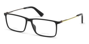 Shiny Black Diesel DL5377 Eyeglasses