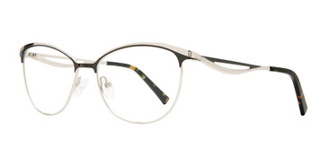 Black Serafina Harriet Eyeglasses