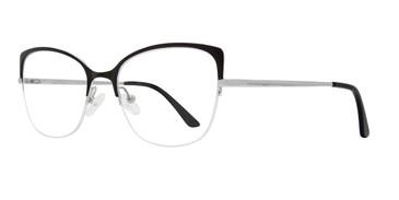 Black Serafina Foxy Eyeglasses