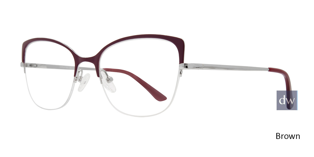 Brown Serafina Foxy Eyeglasses