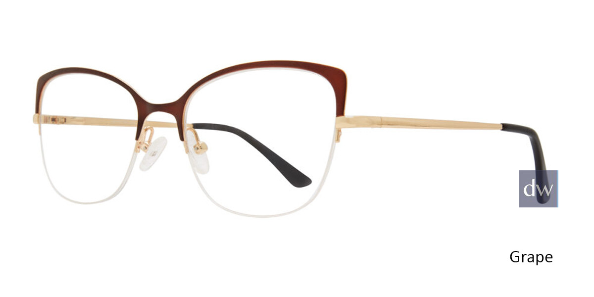 Grape Serafina Foxy Eyeglasses