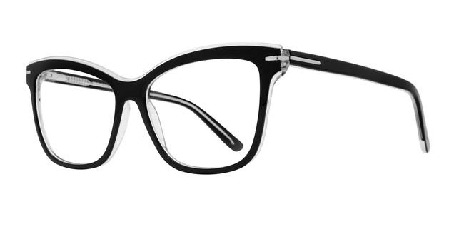 Black Serafina Stacey Eyeglasses