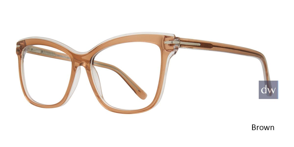 Brown Serafina Stacey Eyeglasses