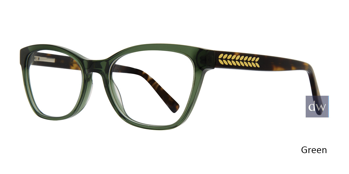 Green Serafina Donatella Eyeglasses