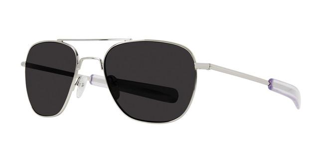 Silver Lite Design Aviator Sunglasses