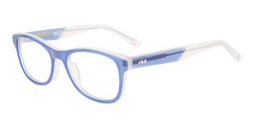 Blue Fila VF9457 Eyeglasses - Teenager