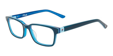 Blue Fila VF9462 Eyeglasses - Teenager