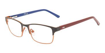 Black Orange Fila VF9464 Eyeglasses