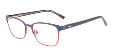 Navy Fila VF9465 Eyeglasses - Teenager