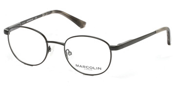 Matte Black Marcolin Eyewear MA3001 Eyeglasses.