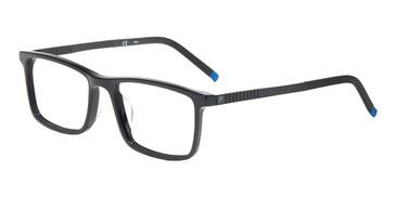 Black Fila VF9242 Eyeglasses