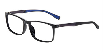 Black Blue Fila VF9243 Eyeglasses