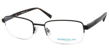 Matte Black Marcolin Eyewear MA3026 Eyeglasses.
