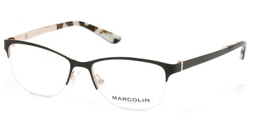 Black Marcolin Eyewear MA5001 Eyeglasses.