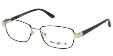 Black Marcolin Eyewear MA5018 Eyeglasses.