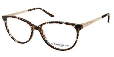 Havana Marcolin Eyewear MA5019 Eyeglasses.
