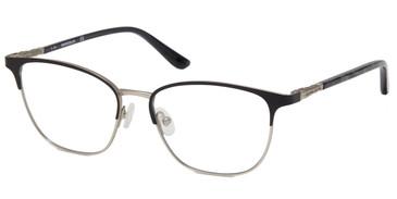 Matte Black Marcolin Eyewear MA5023 Eyeglasses.