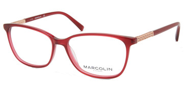 Bordeaux Marcolin Eyewear MA5025 Eyeglasses.