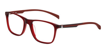 Burgundy Fila VF9279 Eyeglasses