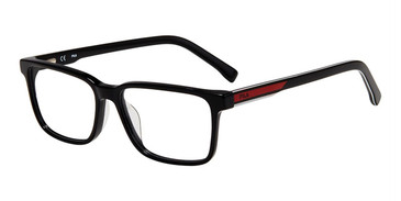 Black Fila VF9349 Eyeglasses