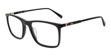 Black Fila VF9403 Eyeglasses