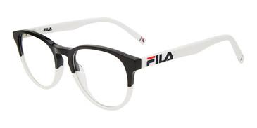 Black/White Fila VF9466 Eyeglasses