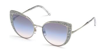 Shiny Palladium/Gradient Swarovski SK0282 Sunglasses
