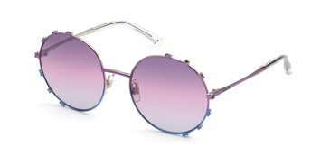 Violet/other/Gradient Or Mirror Violet Swarovski SK0289 Sunglasses