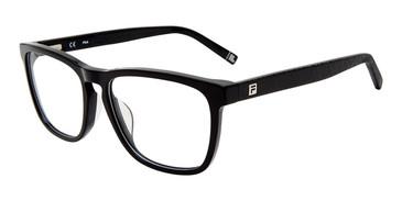 Black Fila VFI091 Eyeglasses