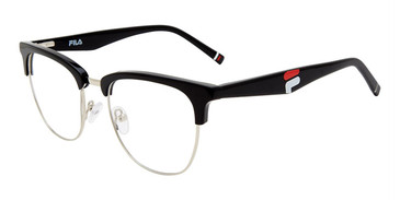 Black Fila VFI174 Eyeglasses