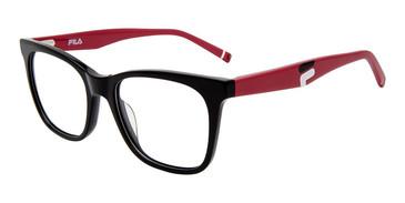 Black Fila VFI175 Eyeglasses