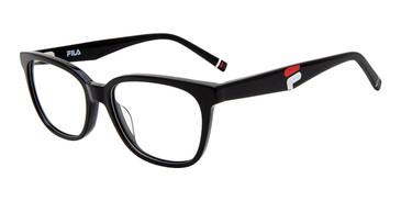 Black Fila VFI177 Eyeglasses