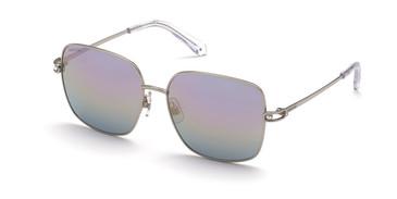 Shiny Palladium/Gradient Swarovski SK0313 Sunglasses