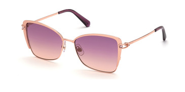 Gold/other/Gradient Bordeaux Swarovski SK0314 Sunglasses