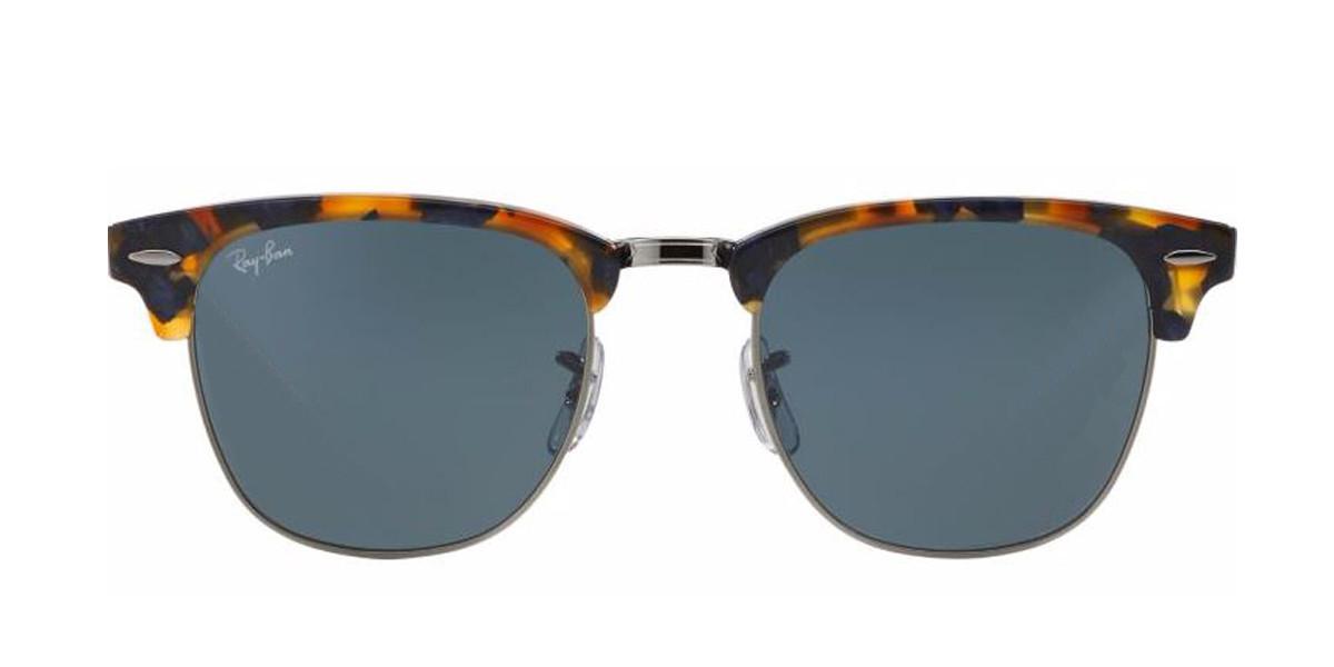 Tortoise/Black RayBan RB3016 Clubmaster Fleck Sunglasses - Teenager