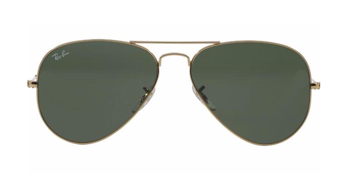 Gold L0205 RayBan RB3025 Aviator Classic Sunglasses